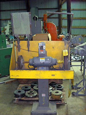12 Baldor Double End Pedestal Grinder Model 1253