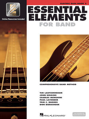 Essential Elements for Band: Electric Bass Book 2 with EEi 862603