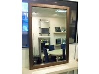 Wall Mirror in Bronze Mesh frame. 101 x 71cm. BNIB. RRP £100