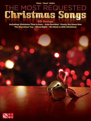 The Most Requested Christmas Songs - Piano/Vocal/Guitar Songbook 1563