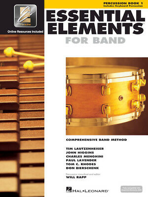 Essential Elements for Band: Percussion Book 1 with EEi and Online Media 862582