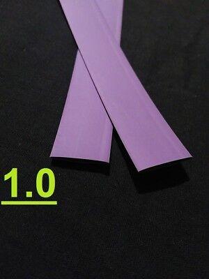 1.0 Inch 25mm Purple 21 Heat Shrink Tubing Polyolefin 1 Foot