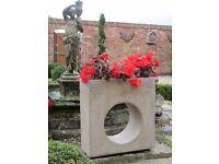 Contemporary Garden Stone Feature Planter