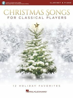 Christmas Songs for Classical Players- Clarinet & Piano ()