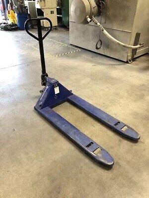 5500 Lb Equiprite Pallet Jack 48 Forks Material Handling Mover