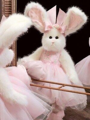 "14"" TIPPY TOES*Bearington Teddy Bear*NEW*NWT*Spring*BALLERINA SHOES*Bunny*4166"
