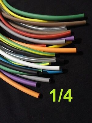 14  6.3mm  Assorted12 Colors 21 Heat Shrink Tubing Polyolefin 12 Foot
