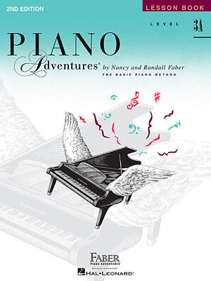 Faber Piano Adventures Level 3A Lesson Book 2nd Edition 420180 NEW! NICE PRICE ! for sale  Shipping to South Africa
