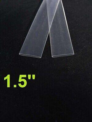 1.5 Inch 38mm Clear 21 Heat Shrink Tubing Polyolefin 1foot