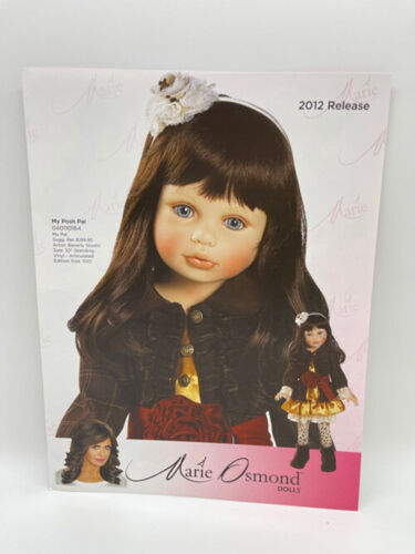 Charisma 2012 Marie Osmond Doll Brochure Includes Wizard Of Oz
