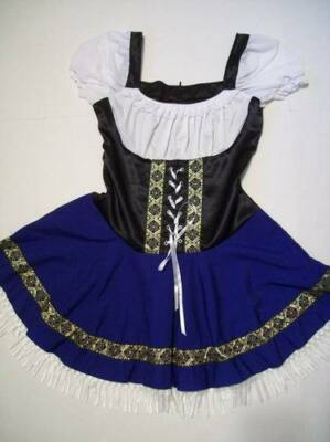 October Fest Dress (SEXY Swedish Holland German Oktoberfest Dutch Dress Octoberfest Size Medium)
