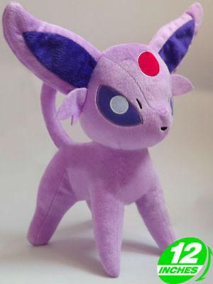 12 inches Wow Pokemon Espeon Plush Halloween Christmas Doll PNPL9083 - Wow Halloween