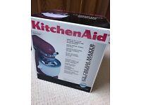 KitchenAid Ice Cream Maker Accessory for Stand Mixer - New in Box