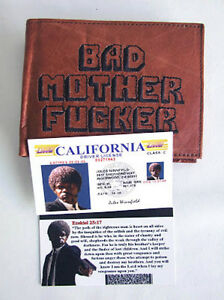 Billetera-Cartera-Pulp-Fiction-Bad-Mother-F-carnet-conducir-Jules-Winnfiel