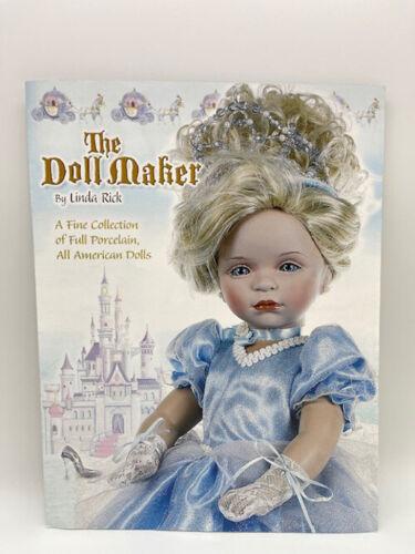 The Doll Maker Linda Rick Porcelain & American Color Catalog Cinderella Cover