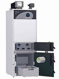 New Ex Demo 22kW Pellet Boiler 100L w/ Internal Domestic Hot Water Tank