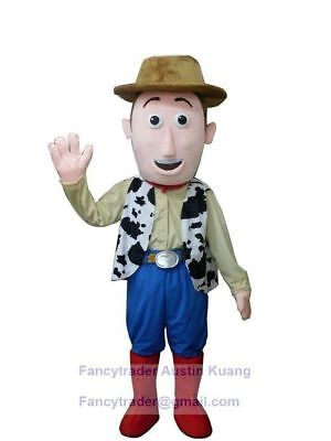 NEW Toy Story Woody Mascot Costume Adult Size Halloween BIRTHDAY Event Boy Party