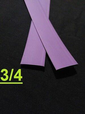 34 Inch 19mm Purple 21 Heat Shrink Tubing Polyolefin 1 Foot