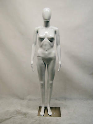 Free Shipping Female Plastic Mannequin Display Head Turns Ps-feg10w