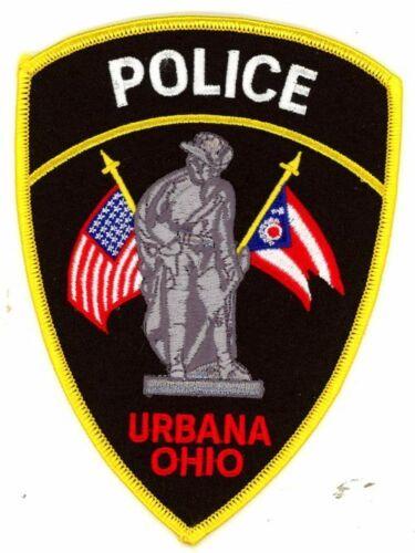OHIO OH URBANA POLICE NEW PATCH SHERIFF
