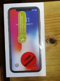 IPHONE X 64GB FOR £630 STILL SEALED AND WILL ACCEPT ALL SIMS