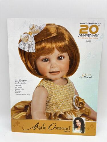 Charisma 2011 Marie Osmond Doll Brochure Catalog 20 Anniversary Edition