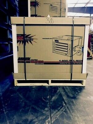 Lanair Waste Oil Heater Mxd300 With 215gal Tank Ductable Unit
