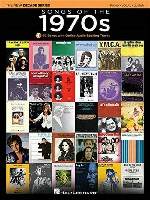 Songs of the 1970s: The New Decade Series with Online Play-Along Backing Tracks