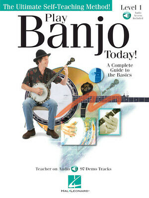 Play Banjo Today Beginner's Pack Level 1 - Instruction BOOK DVD AUDIO -