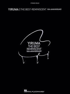 Klavier Noten  - YIRUMA - THE BEST-REMINISCENT - 10th ANNIVERSARY - leicht