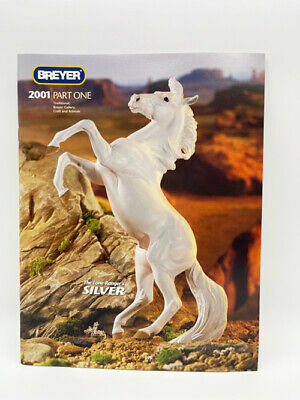 Breyer 2001 Horse Part 1 Color Catalog Silver Lone Ranger Cover