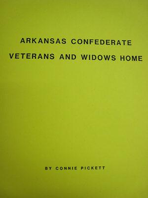 Arkansas AR Civil War Veterans & Widows Home Records