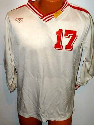 Cannon  Soccer Rugby   Team Gear jersey large white large # 17