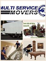 ❖ MULTI SERVICE MOVER ❖ FREE MOVING BOXES ❖ JUNK REMOVAL ❖