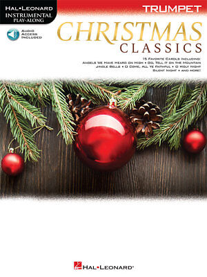 Christmas Classics: Trumpet Instrumental Play-Along - Book/Online Audio 182628 ()