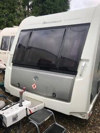 2012 Buccaneer Clipper Twin Axle 4 Berth Caravan - Fixed Singles and Rear Washroom