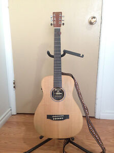 Little Martin Acoustic Guitar LX1E W/Bag and Accessories