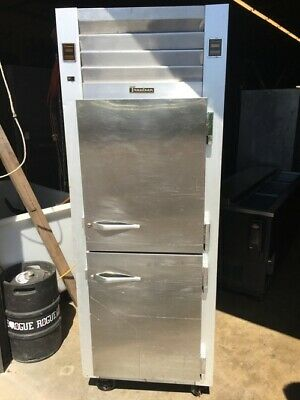 Cooler Refrigerator Traulsen Reach-in Cooler Freezer Combo Unit