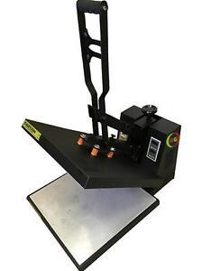 "New 15 x15"" Rosin Heat Press with dual heating Element platens Press"