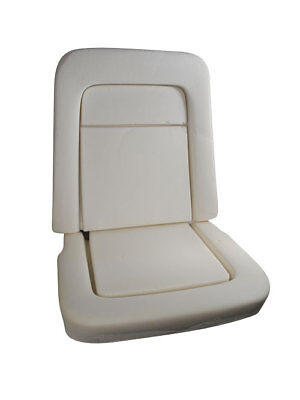 1968-1969 Ford Mustang Seat Foam - Standard Or Deluxe - 1 Top & 1 Bottom