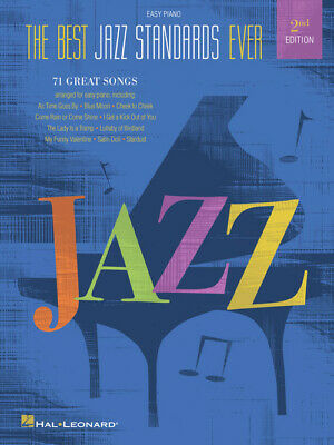 Best Jazz Standards Ever, 2nd Edition - Easy Piano Songbook