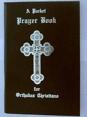 A Pocket Prayer Book for Orthodox Christians -Black Vinyl Cover (3.5