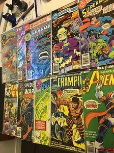 Mix of Hot and Bronze Age Comics