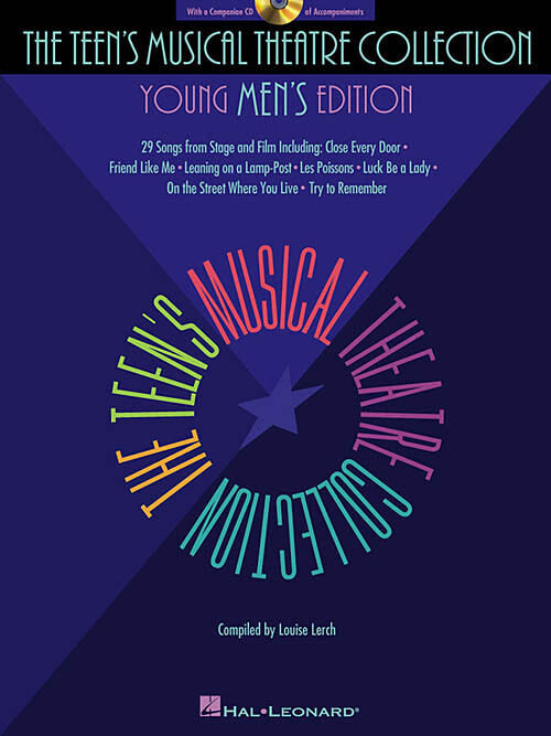 MUSICAL THEATRE FOR TEENS YOUNG MENS VOCAL SONG BOOK