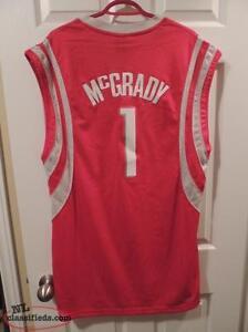Tracy McGrady Houston Rockets Replica Basketball Jersey St. John's Newfoundland image 2