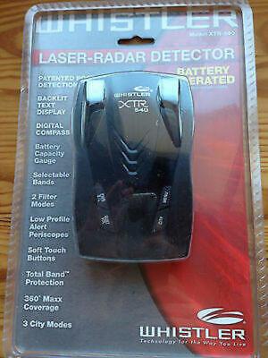 Whistler XTR-540コードレスレーダー探知機。