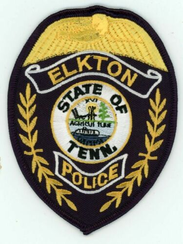ELKTON POLICE TENNESSEE TN NICE COLORFUL PATCH SHERIFF