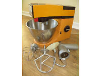KENWOOD Super Chef A901 Food Mixer Steel Bowl & Attachments Bundle