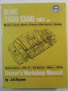 BLMC 1100 / 1300 (1962 up) Repair Manual