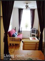 Métro Papineau, 4 chambres sur 2 étages! Furnished + Internet!